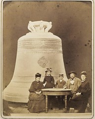 "Bell-founder Andreas Hamm with family in front of the ""Kaiserglocke"", the largest bell of the Cologne Cathedral, 1875 [946 x 1181] #HistoryPorn #history #retro http://ift.tt/21tDIo9 (Histolines) Tags: family history with cathedral bell cologne andreas front x retro timeline hamm largest 1875 vinatage 946 1181 historyporn bellfounder kaiserglocke histolines httpifttt21tdio9"