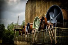 Bunt, Turbinenrad (benni_sc) Tags: duisburg kontrast industrie turbine bunt landschaftsparknord