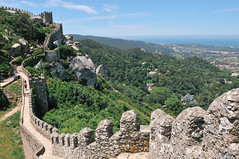 Castle of the Moors (Castelo do Mouros) - Sintra, Portugal (Gail at Large + Image Legacy) Tags: portugal sintra 2011