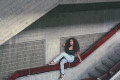 Subiendo a lo ms profundo. (Marianaok_) Tags: city urban girl beautiful beauty youth canon vintage photography 50mm retrato venezuela portait grunge fotografia nigga 2016