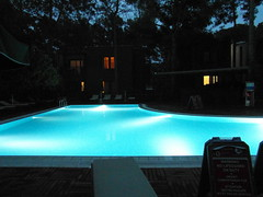 evening pool (2) (kexi) Tags: pool swimmingpool evening tranquility water blue turqouise light quiet calm empty samsung wb690 turkey may 2015 instantfave