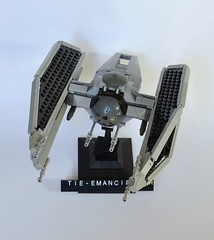TIE-Emancipator (Veynom) Tags: starwars fighter lego tiefighter moc starfighter
