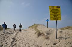 Almost there (-Kj.) Tags: beach netherlands coast sand dunes hike northsea signpost schoorl reidun northholland schoorlseduinen