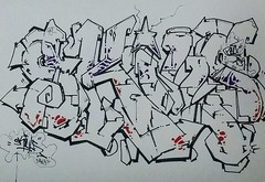 """SKILLS BLACKBOOK PRIZ SKETCH."" (""OLDSCHOOL SUBWAY GRAFFITI WRITER!"") Tags: nyc yards graffiti tsf broadway prism trains writers walls prisms 1980s pz prismatic prisma skillz tds priz prizm tmt subwaygraffiti prizma prz prizone prizzy prizmatic prizo prismpriz prizzypriz prismaticacity prizmagicacity prismone prizmagic"