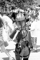 Animazement 2016 (mattbellphoto) Tags: blackandwhite bw film 35mm cosplay az raleigh hp5 ilford pushprocess animazement nikonfe2 xtol 85mmf14