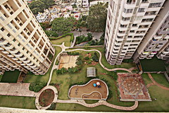 geometries..... (Rupa Panda) Tags: park shapes birdseyeview geometries