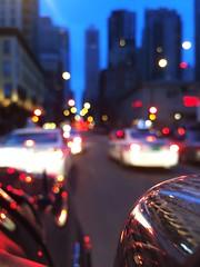 Traffic | Chicago, Illinois (minnesotagypsy) Tags: city travel sunset c