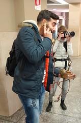 Flickar in Torino () Tags: street friends portrait torino photography photo flickr foto photographer photos group meeting human fotografia amici telefono turin ritratto stefano fotografo gruppo incontro raduno 2015 progetto trucco binario21 zush stefanotrucco