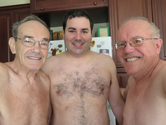 March 27, 2015 (280/365+3) (gaymay) Tags: california family gay portrait love happy desert palmsprings triad