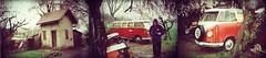 récupération combi VW ... in/en 1988 (OLDLENS24) Tags: camera windows red white bus film vw analog 35mm polaroid rouge samba minolta 1988 110 off 600 split pocket 16mm combi blanc recovery survivor hs argentique 1963 weathermatica