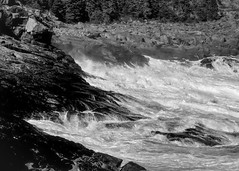 crashing surf, Boar's Head, Burnt Head version 2, Monhegan, Maine, Nikon D40, nikon nikkor 105mm f-4, 9.22.14 (steve aimone) Tags: ocean blackandwhite seascape monochrome nikon surf waves head maine monochromatic nikkor atlanticocean monhegan boars seacoast crashing monheganisland burnthead nikonnikkor105mmf25 nikond40 crashingsurf