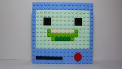 BMO (andresignatius) Tags: de faces lego time mosaic adventure hora bmo aventura moc hda