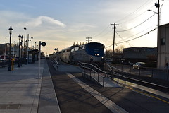 Northbound Coast Starlight at Edmonds Amtrak Station - 01orthbound Coast Starlight at Edmonds Amtrak Station - 01 (T.C.M.) Tags: railroad train coast rail amtrak transit edmonds starlight railroading