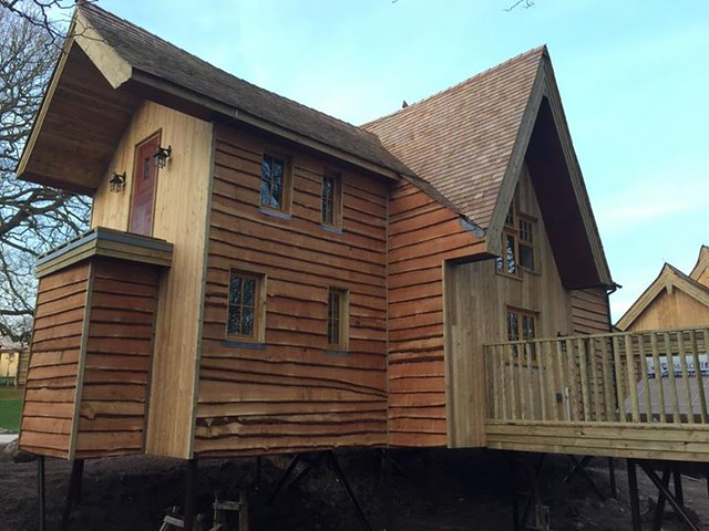 22/03/2015 - The back of the third treehouse