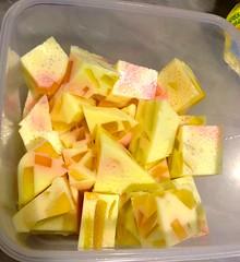 Mum's agar agar jellies (chickenscrawlings) Tags: dessert jelly agaragar