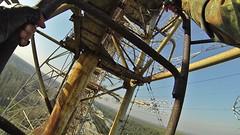 climbing and exploring Duga-3 / -3, the Russian Woodpecker / Chernobyl-2 radar site (bionerd23 ) Tags: shadow woman girl wheel yard nude jumping woodpecker call tits steel horizon over radiation nuclear ferris science climbing disaster stalker physics radioactive rays radioactivity russian today base fukushima antenna radar zone atom diaries npp array duga chernobyl the confinement dosimeter nsc oth freeclimbing 2015 tschernobyl caesium pripyat chornobyl  chernobyl2     novarka duga3  3 2