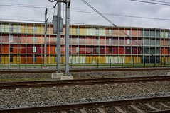 Lines and colours (avista) Tags: urban lines 35mm colours flat sony thenetherlands railway fullframe houten rx1