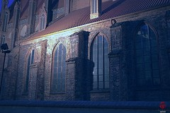 Sw. Jakub Church, Torun PL (Mark Kaletka) Tags: church parish night gothic poland 14thcentury torun stjames mediaeval midieval swjakub