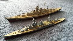 WW2 Maritime Giants (Decibel Dave) Tags: hitler ww2 bismarck warship royalnavy seabattle hmshood hmsrodney battleofdenmarkstrait kriegschiffe