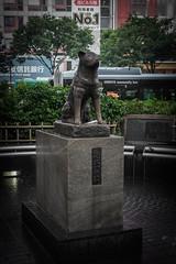 Gare de Shibuya (SoL4R06) Tags: chien statue japan de tokyo gare shibuya japon hachiko fidèle chūken