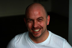 Jason Neale is Proper Funny - FACT (copyrightsplashphotography) Tags: jason promotion festival laughing pen edinburgh comedy drawing expression branded leicester bald smiles stamp laugh forehead branding stamped neale livecomedy facialexpressions brouchure leicesterfridge