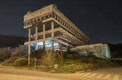 Radio Fortuna (inhiu) Tags: street longexposure nightphotography travel building architecture night georgia lowlight nikon communist soviet tbilisi d800 urbex urbanexploartion inhiu