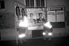 (r)e(f)lection. (Hadrien Sayf) Tags: paris royal affichage vote elections sarkozy 2007 prsident villedeparis employs