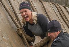 Fun (stevefge) Tags: people netherlands girl sport laughing nijmegen fun mud nederland viking berendonck strongviking