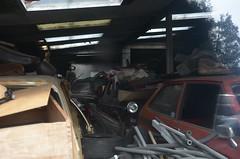 Indoor Storage (MattLikesCars) Tags: mk1 ford fiesta wolseley 1500 riley 15