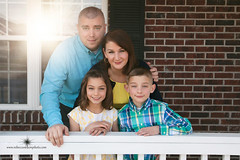 (Rebecca812) Tags: family portrait house twins sister brother father group daughter mother son familyoffour