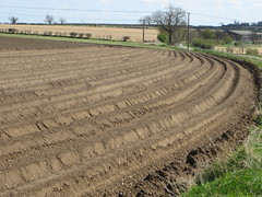 contour plowing - definition and meaning