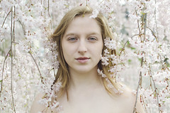 DeAnna (Jessica Lisbeth) Tags: pink flowers white girl may mayflowers