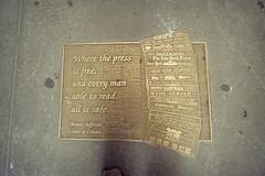 Where The Press Is Free (Doha Sam) Tags: trip usa newyork slr 35mm nikon kodak manhattan scan midtown negative 400 analogue fe portra manualfocus nikonscan filmiso400 coolscan9000ed newportra samagnew smashandgrabphotocom linearscan educationleave wwwsamagnewcom