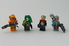 Figbarf: Inhabitants Of The Galaxy (Dajo Twir) Tags: lego space scifi minifigures figbarf maynifigure