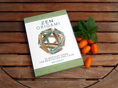 ZEN ORIGAMI (masha_losk) Tags: paper book origami symmetry foliage folded paperfolding modularorigami origamistar kusudama  unitorigami     mariasinayskaya zenorigami
