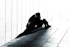 Westfield Shopping Centre in Shepherd's Bush - London Street Photography (Nicholas Goodden) Tags: city shadow people urban london monochrome silhouette shopping photography candid centre citylife streetphotography olympus londres faceless streetphoto unposed anonymous westfield londra shepherdsbush ciggy cigarettebreak urbanlife urbanphotography anonymity londoners longshadow streetphotographer photoderue notposed streetsoflondon urbanphotographer mirrorless unrecognisable microfourthirds