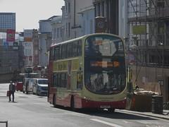 Brighton & Hove 455 BK13NZX 'Pauline Benjamin' North St, Brighton on 5A (1280x960) (dearingbuspix) Tags: 455 brightonhove goahead bk13nzx paulinebenjamin