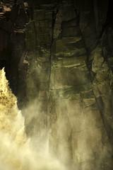 Foam (rajivchopra.photo) Tags: india nature waterfall waters naturalbeauty centralindia wildwaters volcanicrocks raneh bundelkhnd kennaturereserve raneshwaterfall
