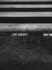 rain 021 (Zlatko Parmakovski) Tags: vscocam blackandwhite monochrome phoneography htc minimal minimalism geometric lines black white stripes zebra street skopje  city macedonia  texture