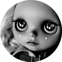 Sometimes it's for true (the Northlings) Tags: love hearts doll ooak luna sugar crop blythe custom photograpy sugarluna