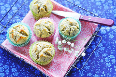 lemon poppy seeds muffins, wanna share ? :) (*steveH) Tags: food colors muffins baking lemon sweets steveh