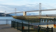 Bay Bridge Detail (}{enry) Tags: sanfrancisco california bridge bay