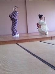 Yasaka nyokoba (Kikyou chan) Tags: kyoto maiko tama gion okiya hanamachi kobu mamekiku mamefuji karyuukai