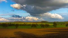 Heure dore sur la campagne autour de Gapennes (Somme) ( fabienne faur) Tags: sky cloud ciel 7d nuage campagne landskape somme 2470mm eos7d canon7d gapennes