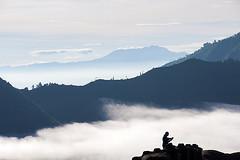 layer mountains (Rosita So Image) Tags: mountains sunrise indonesia landscape java foggy mountbromo