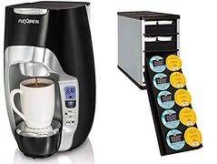Hamilton Beach 49996 FlexBrew Coffeemaker+YouCopia CoffeeStack 40K-Cup Organizer (beveragecoolerusa) Tags: wordpress ifttt
