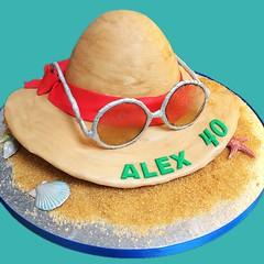 (rolipayne) Tags: holiday beach hat sunglasses cake sand recent roli