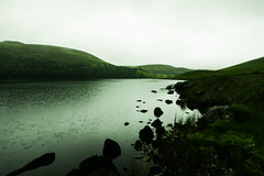 Wet Lake (Costigano) Tags: ireland irish lake water rain canon eos scenery lough outdoor scenic wicklow waterscape loughtay