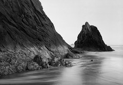 Hug Point, Oregon Coast (austin granger) Tags: morning rock oregon coast geology largeformat newyearsday hugpoint deardorff austingranger