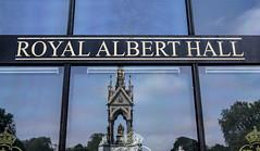 Royal Albert Hall (beelzebub2011) Tags: uk england reflection london royalalberthall